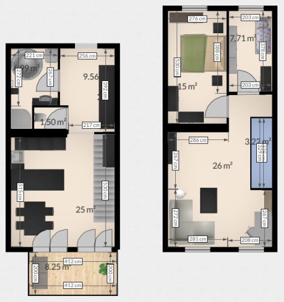 Hochwertige DG Wohnung mit Balkon und Designküche! /  / 1160Wien / Bild 4