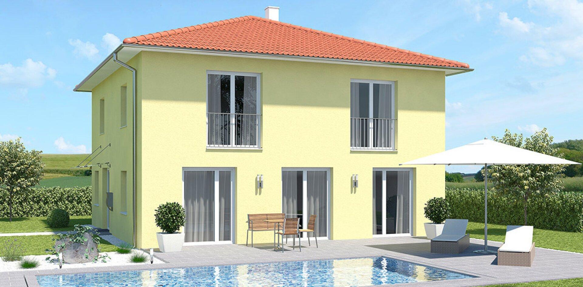 Wohnfläche 130 m²