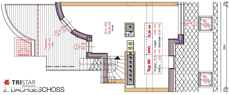 NEU! ++ ERSTBEZUG !!! Dachterrassenwohnung mit 360 Grad Wienblick !!! Terrasse + Dachterrasse !!! 4 Auto Stellplätze (Top 60) ++ /  / 1100Wien / Bild 11