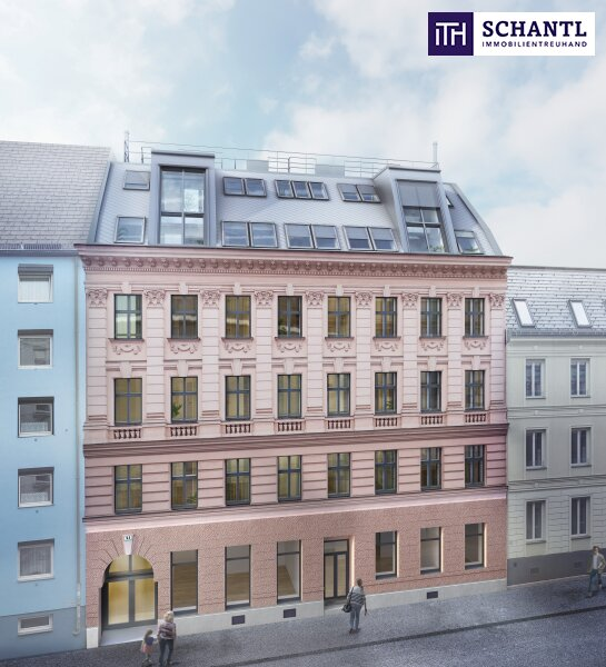 Auf nach Währing! Hochwertig sanierte Altbauwohnung mit hofseitigem Balkon! Wunderschönes und revitalisiertes Altbauhaus + Ruhelage! /  / 1180Wien / Bild 1
