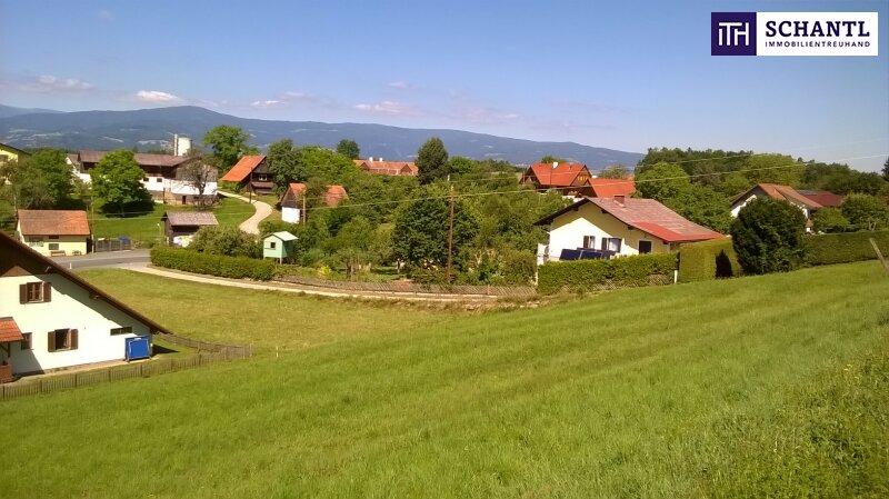 ITH #CHANCE! Reichlich Platz für Ihr Wohnprojekt! Grundstück in Südwesthanglage mit Fernblick auf die Koralm + Ruhelage /  / 0keine Angabe / Bild 4