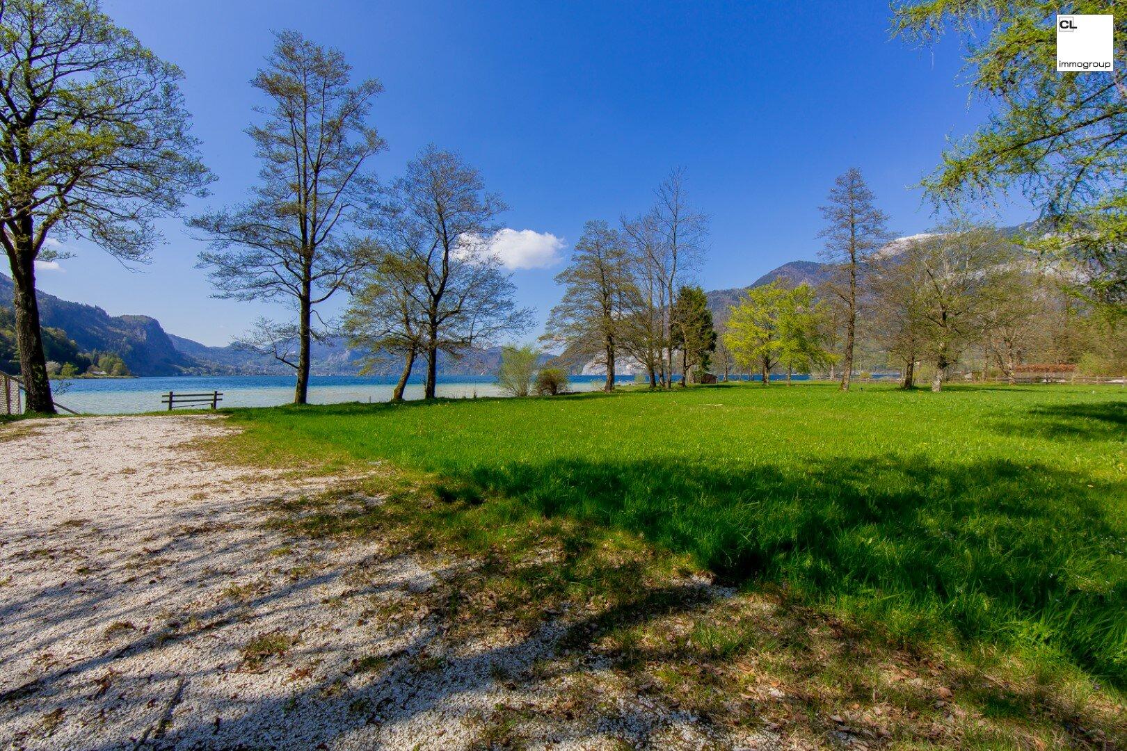 Reizendes Seegrundstück direkt am Wolfgangsee in Bestlage zu Verkaufen!