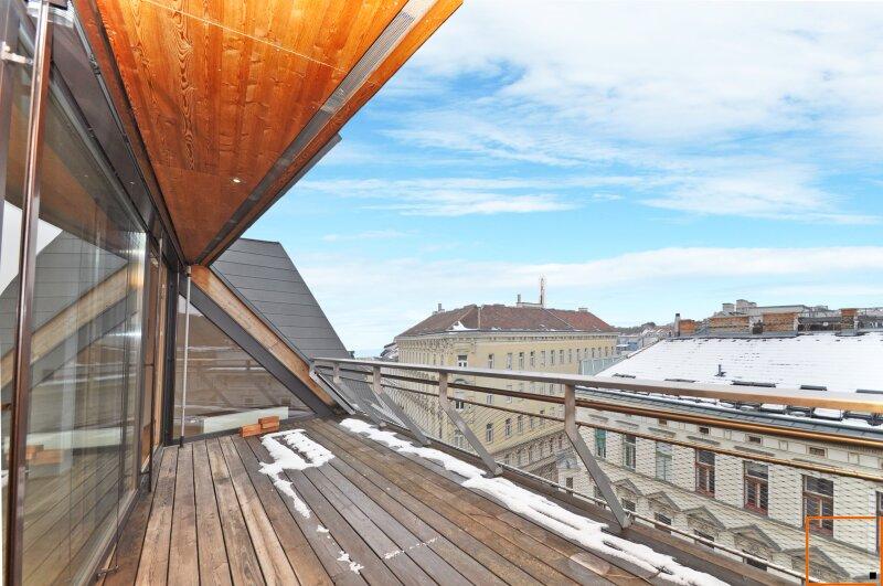 Sonniges Dachgeschoss im Schottenfeld