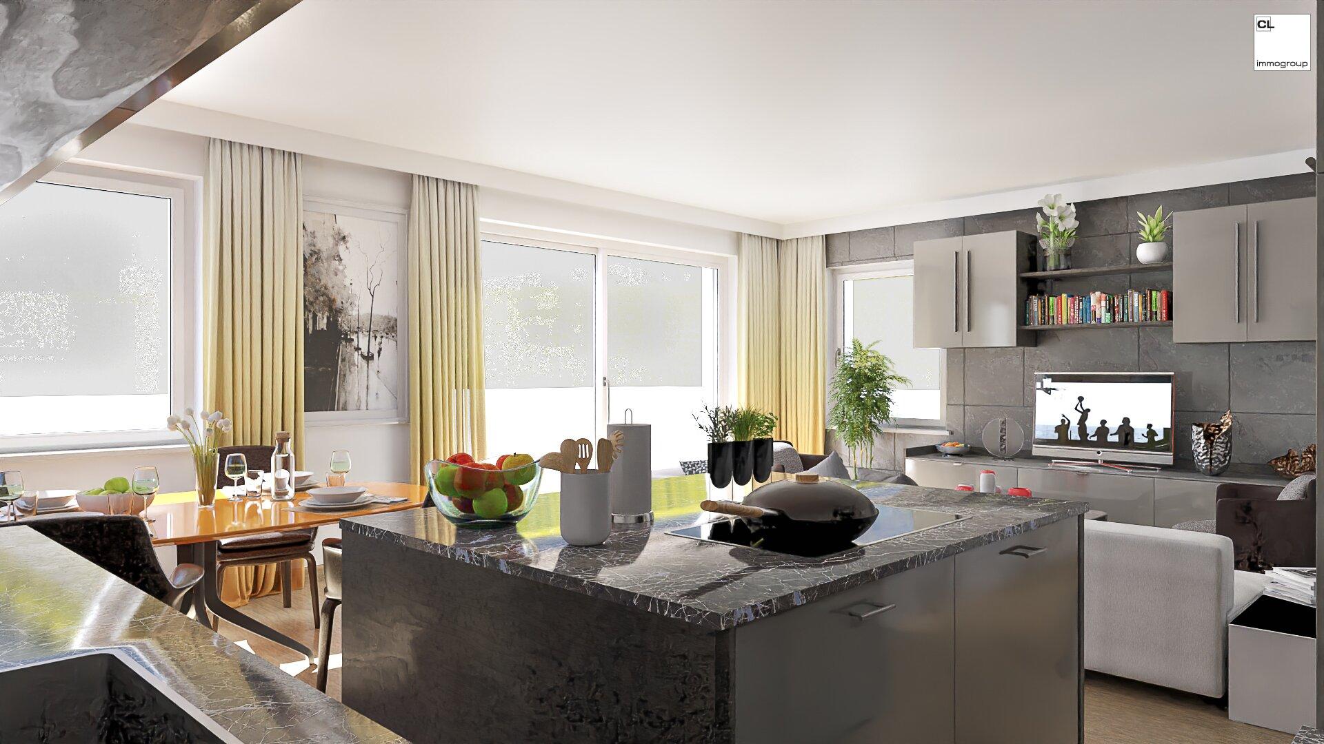 Wohnzimmer (Visualisierung)