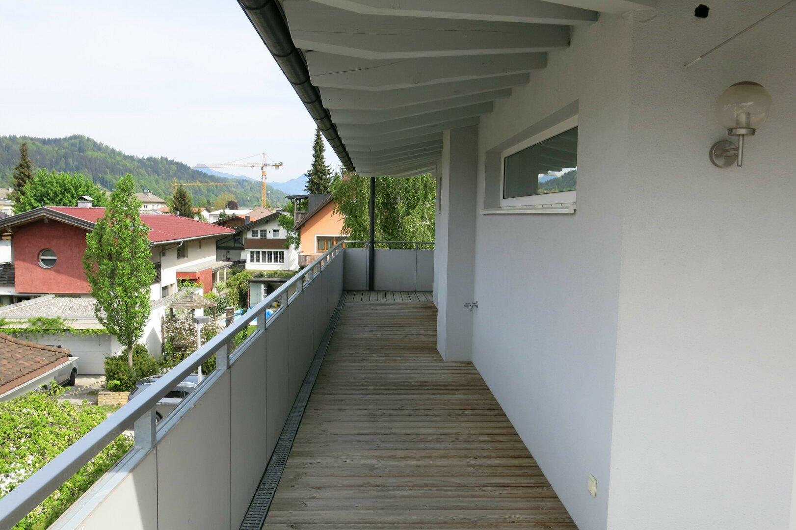 Terrasse, 2-Zimmer Penthousewohnung, Kufstein