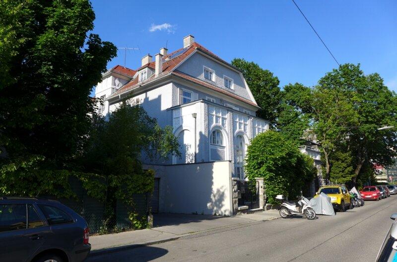 Wohnen und genießen im Stil von Otto Wagner