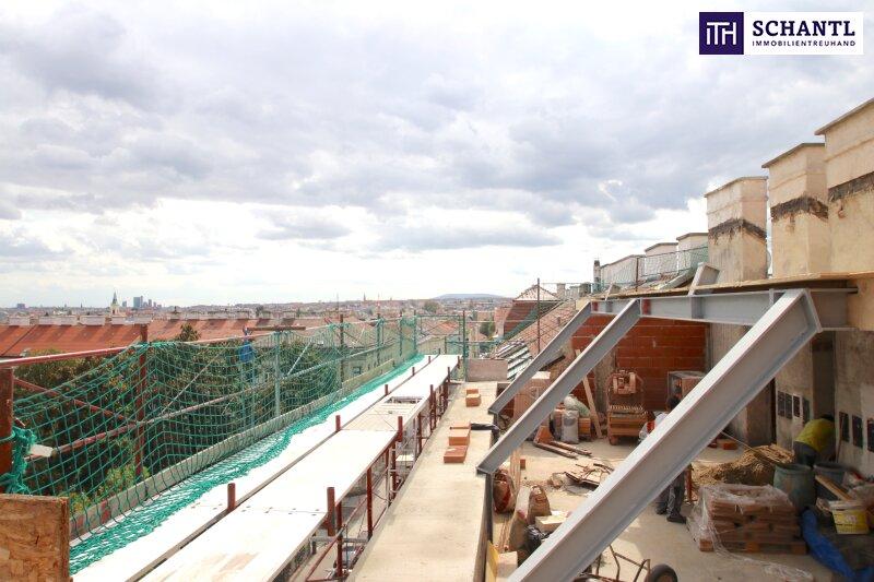 IHR TRAUM im Dachgeschoss! Erstbezug mit vier Zimmer auf zwei Etagen, plus über 64m² Panorama-Dachterrasse! /  / 1170Wien / Bild 0