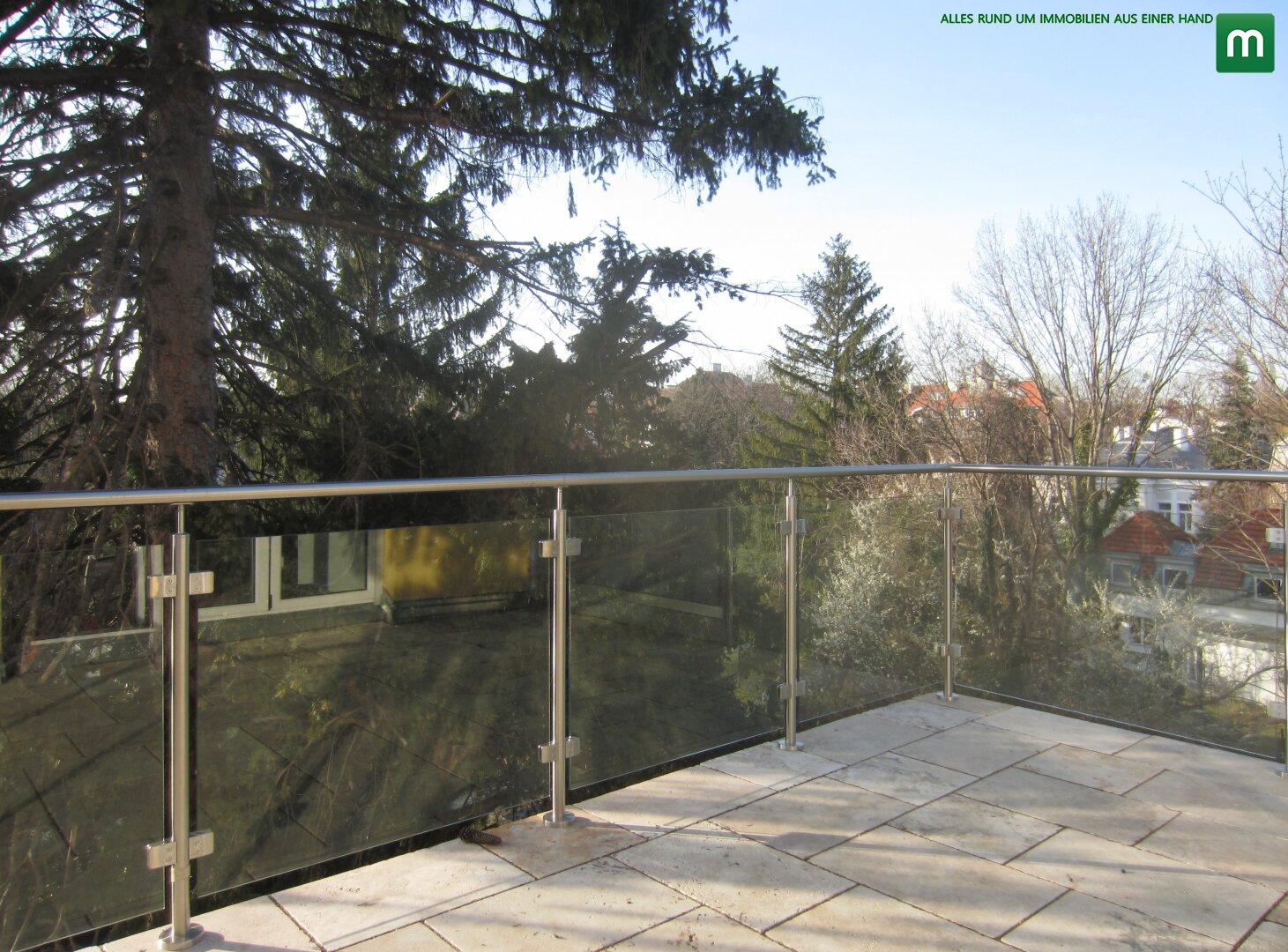 Terrasse ohne Gegenüber