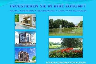 Wiener Vorsorgewohnungen als Kapitalanlage ! NEUBAU | ERSTBEZUG | PROVISIONSFREI | DIREKT VOM BAUTRÄGER