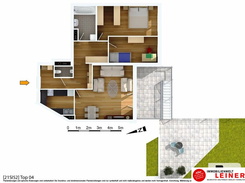 *Seltene Gelegenheit* Außergewöhnliche Wohnung mit Garten & Terrasse Nähe Alte Donau! Objekt_8800 Bild_566