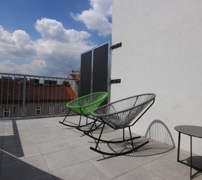 Herrliche Sonnenterrasse und Top-Ausstattung - Hochwertiger Dachterrassen-Erstbezug