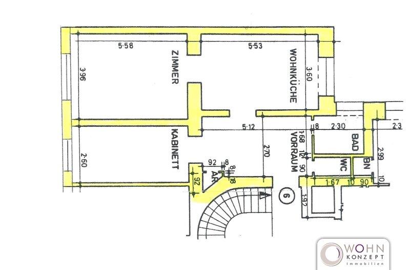 Zentrumsnaher 76m² Altbau mit Einbauküche - 1020 Wien /  / 1020Wien / Bild 9