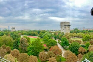 Exzellente Dachgeschoßwohnung mit Fernblick über Wien & AUGARTEN!