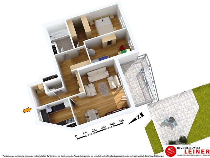 *Seltene Gelegenheit* Außergewöhnliche Wohnung mit Garten & Terrasse Nähe Alte Donau! Objekt_8800