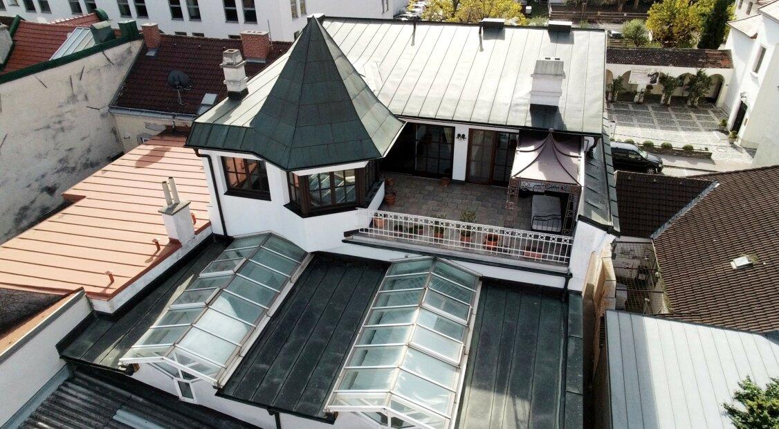 Wohn- & Geschäftshaus mit Terrasse & Garage mitten in der Innenstadt