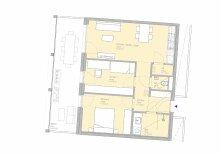 PROVISIONSFREI - 3-Zimmer-Erstbezugswohnung mit Balkon