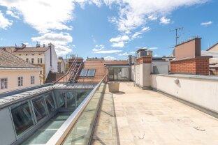 traumhaft helle Maisonette mit 2 Schlafzimmern, Galerie und Dachterrasse