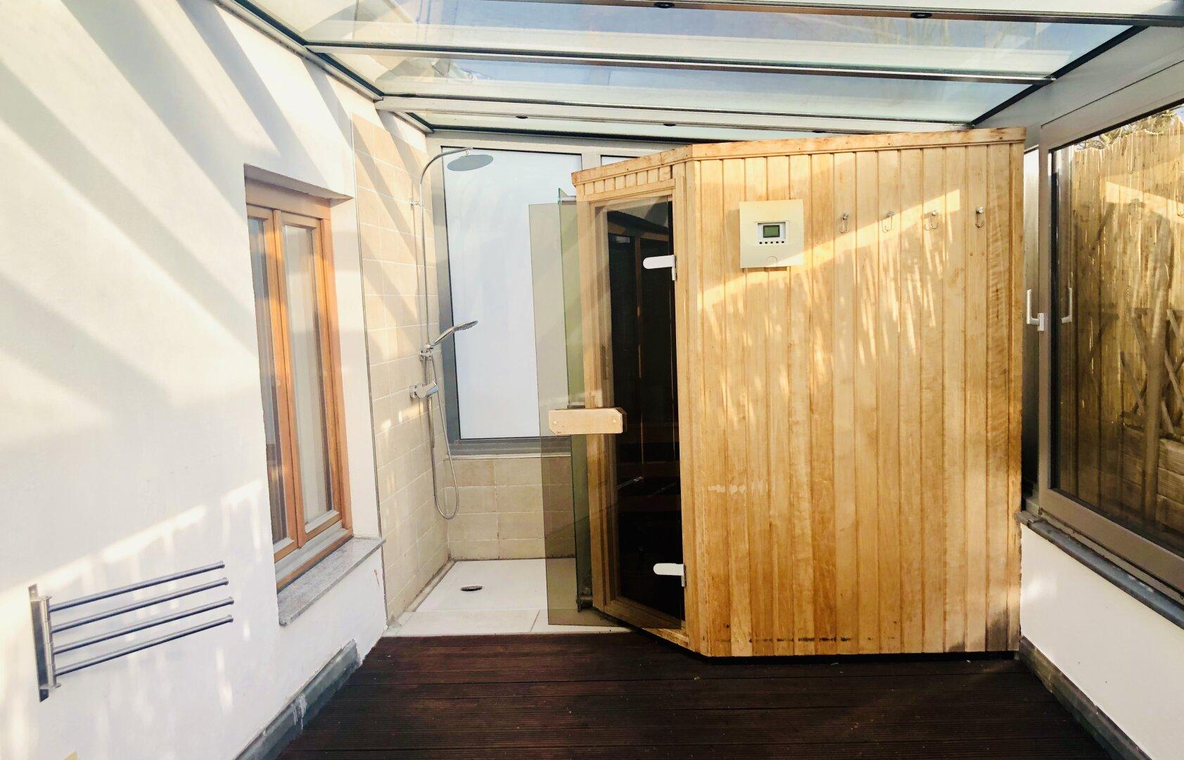 Sauna Dachterrasse