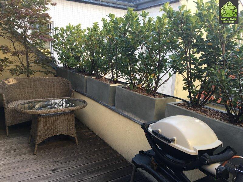 Tolle Dachgeschoßwohnung (eine Ebene) mit großer Terrasse/Rundumblick /  / 1050Wien / Bild 7