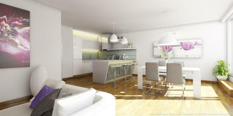 Helle DG-Neubau-Wohnung ohne Dachschrägen /  / 1120Wien / Bild 2