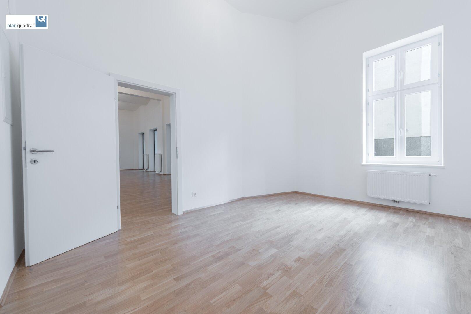 Büroraum (ca. 16,00 m²) - mit Küchen-Anschlussmöglichkeit