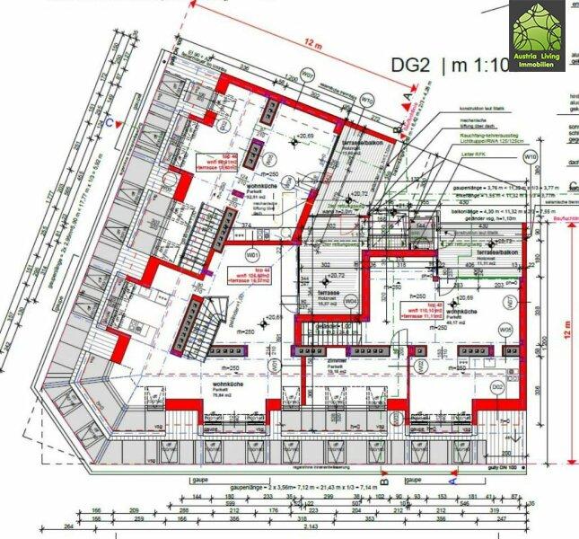 5 Dachgeschoßwohungen Erstbezug Altbau--Terrasse/Loggia /  / 1050Wien / Bild 4