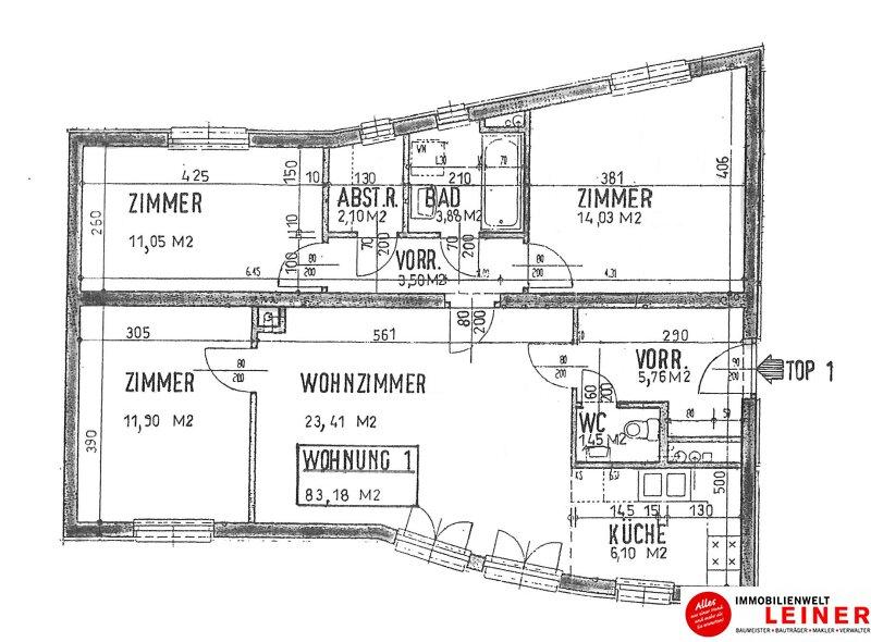 4 Zimmer Mietwohnung in absoluter Ruhelage mitten im Zentrum Objekt_10834 Bild_625