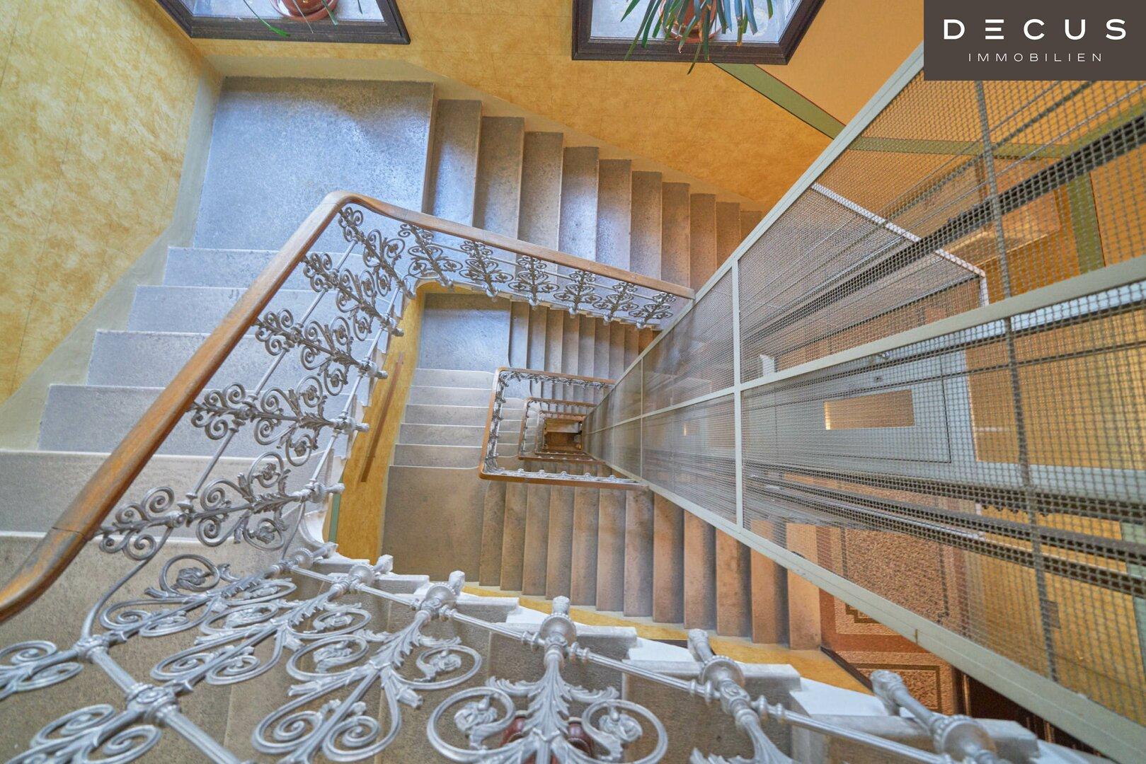 Treppenhaus Aufgang Lift