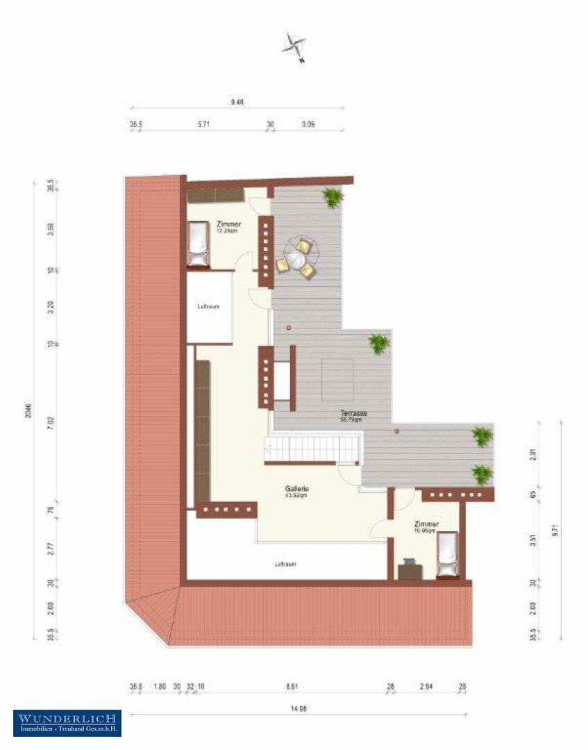 Plan Terrassengeschoss