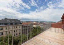 Helles Terrassen-Appartement mit hochwertiger Ausstattung, Nähe U6