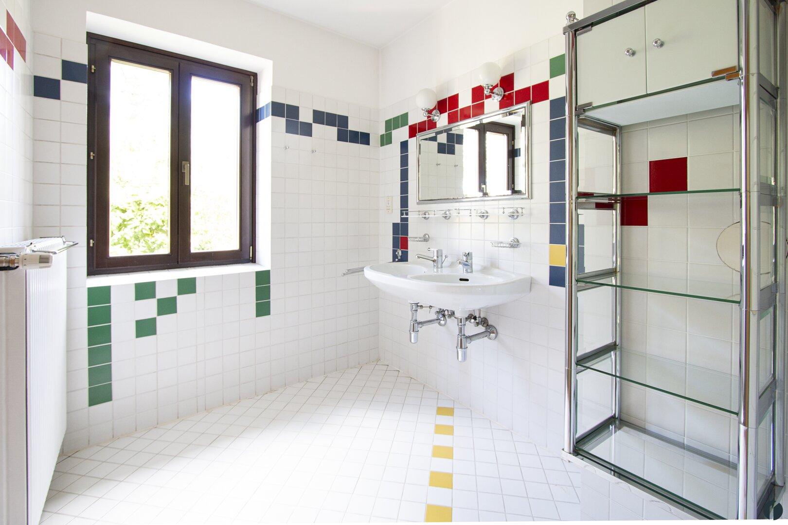zweites Badezimmer im Obergeschoss