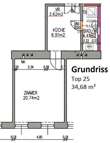 GENERALSANIERT! ERSTBEZUG! direkt bei U6-Station Dresdner Straße /  / 1200Wien / Bild 4