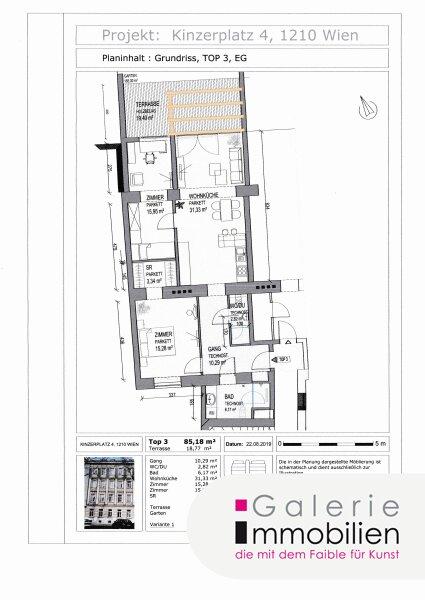 Nähe Alte Donau - Erstklassige und helle Gartenwohnung in generalsaniertem Gründerzeithaus Objekt_31833 Bild_224