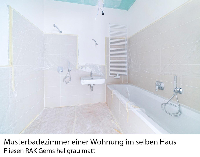 Musterbadezimmer im Haus