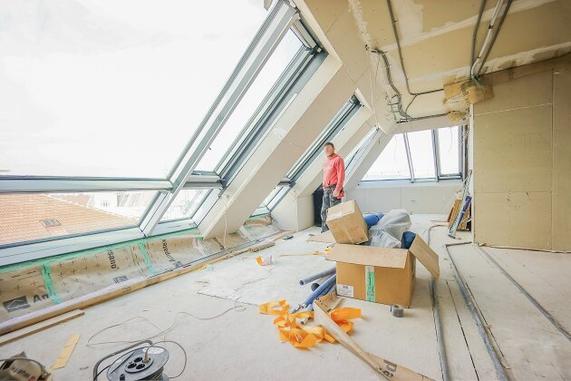 Foto von NEU! ++ 1070 Wien ++ 3 Exklusive Dachgeschosswohnungen mit Panoramablick (Top 16) ++