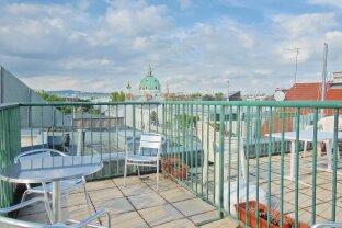 Möbliertes Dachterrassen- Apartment in Zentrumsnähe !!!