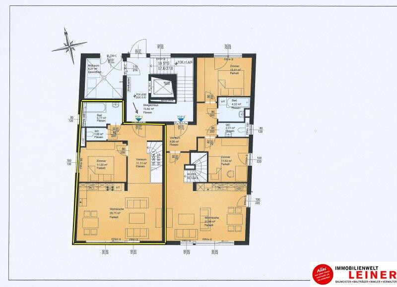 2 Zimmer Wohnung + Eigengarten + 34m² Keller -  Oberlaa, Wohnerlebnis der Extraklasse – Schlüsselfertig – Provisionsfrei! Objekt_8791 Bild_348