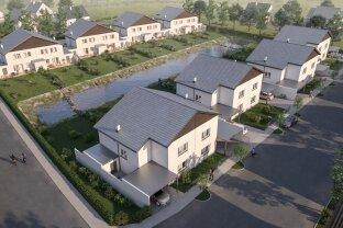 Bruck a.d.Leitha/Prellenkirchen: Wohnen auf 134 m² am Natur-Badeteich ab € 299.000, provisionsfrei