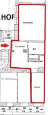 ALTBAU - 2,5 Zimmer - 63m² - RUHIGE HOFAUSRICHTUNG  - 2.Liftstock