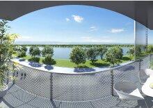 Direkt am Badeteich - 2 Zimmer mit Balkon
