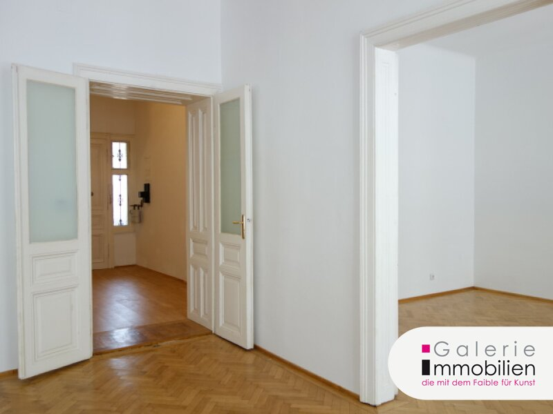 Großzügige und ruhige 2-Zimmer-Altbauwohnung, unbefristet! VIDEO Objekt_27603