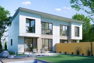 Exklusive Doppelhaushälfte - In idyllischer Grünruhelage nahe dem Nationalpark Lobau - MIT 3D-Besichtigung Demo