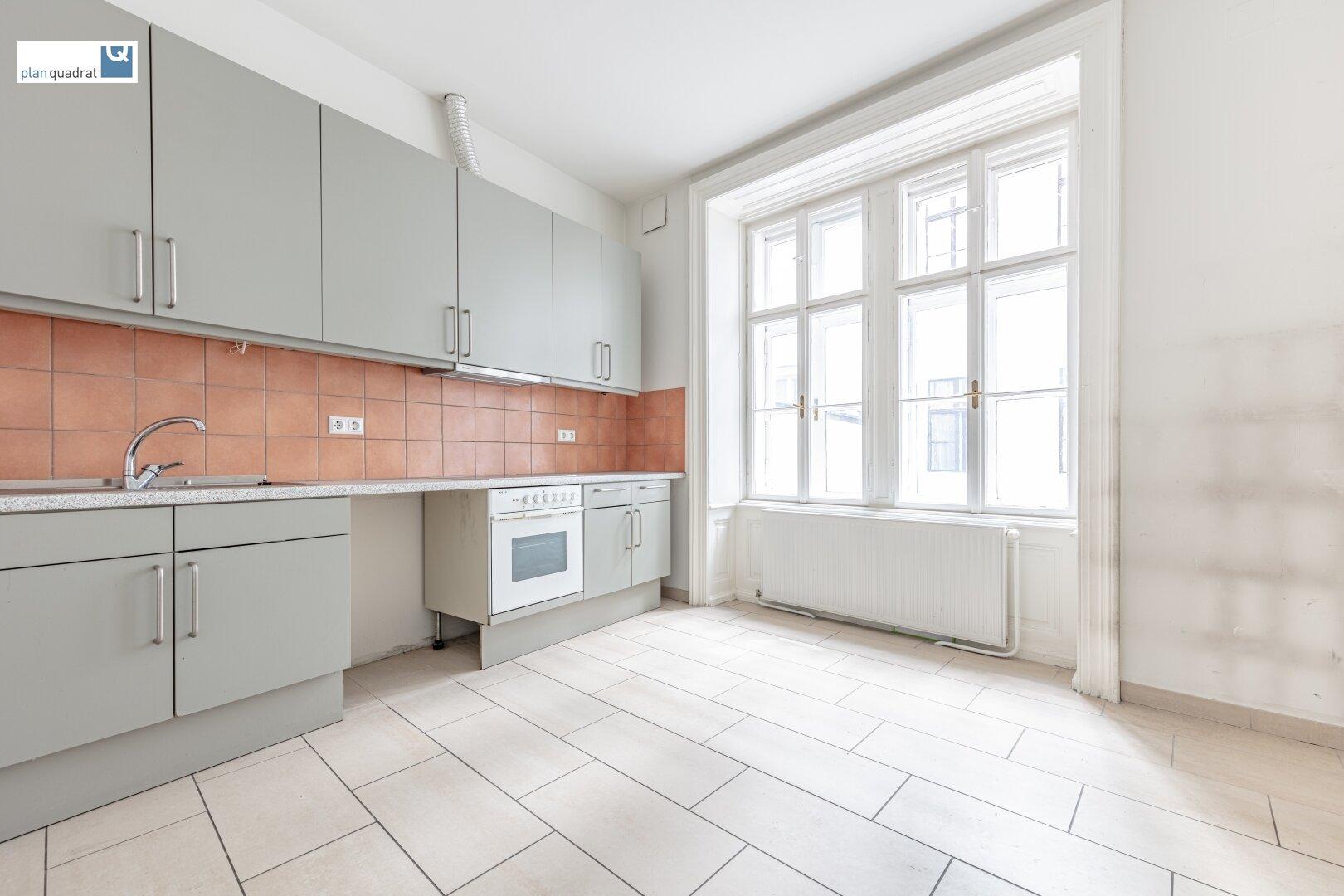 Küche / Pausenraum (ca. 12,60 m²)