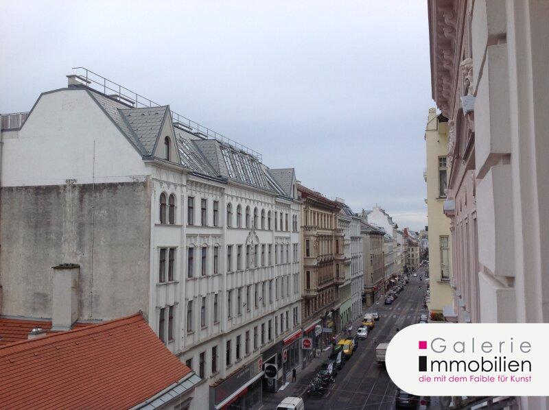 Westbahnstrasse - hofseitiger Stilaltbau mit Balkon und Garage im Haus Objekt_35158 Bild_282