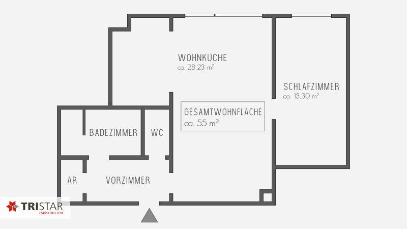 NEU ++ERSTBEZUG nach Sanierung ++Single oder Pärchen 2-Zimmerwohnung in Hofruhelage Nähe Schloss Belvedere und Botanischer Garten++ /  / 1030Wien / Bild 16