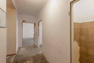 Sanierungsbedürftige Wohnung in der Schwarzingergasse - nächst Karmelitermarkt