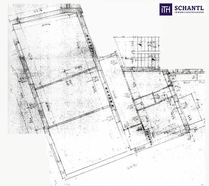 Top-Lage!!! Sanierungsbedürftige Altbauwohnung im Herz-Jesu-Viertel mit 4 Zimmer + Balkon + WG-tauglicher Umbau möglich! /  / 8010Graz / Bild 4