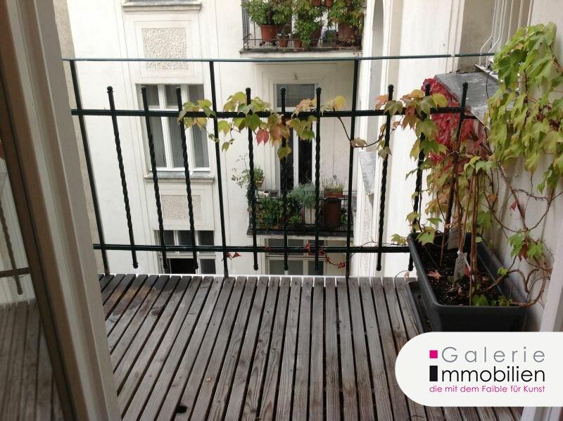 Westbahnstrasse - hofseitiger Stilaltbau mit Balkon und Garage im Haus Objekt_35158 Bild_273