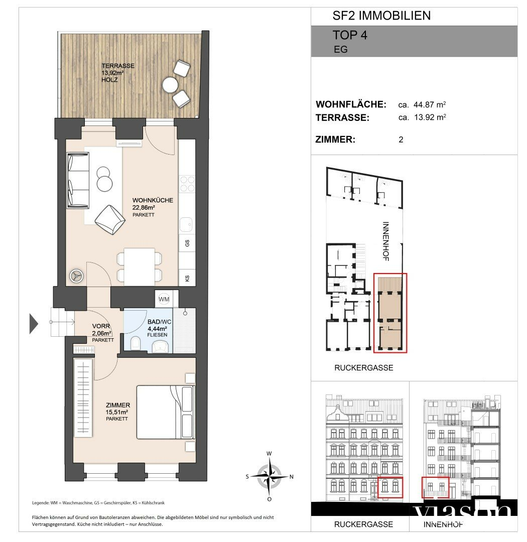 Wohnungsplan