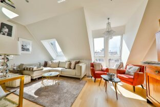 Maisonettewohnung mit Dachterrasse & Blick über Wien